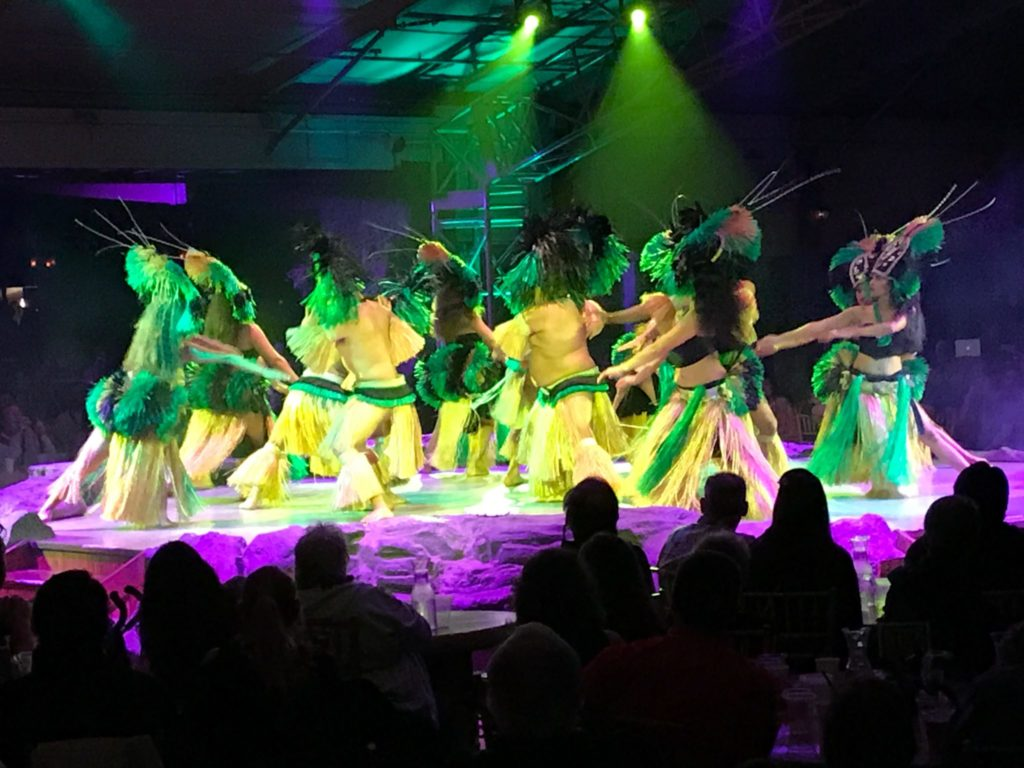 The story through hula dance at Luau Kalamaku