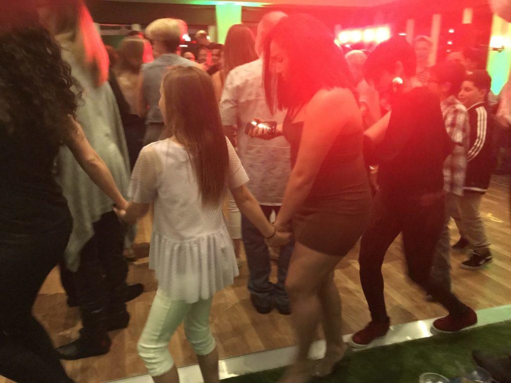 kids dancing at Bar Mitzvah
