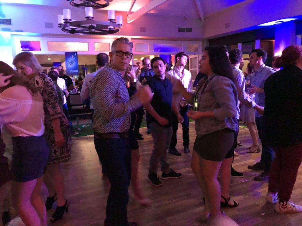 Sophia and Triton dance Bar Mitzvah style