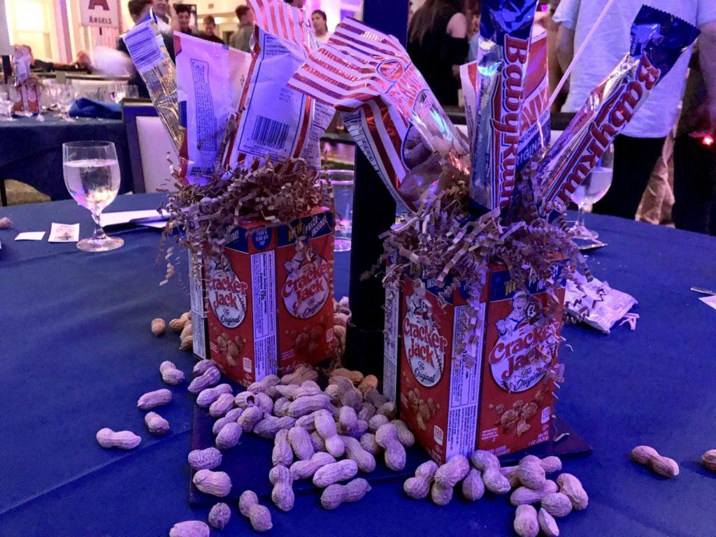 peanuts and crackerjack at bar mitzvah