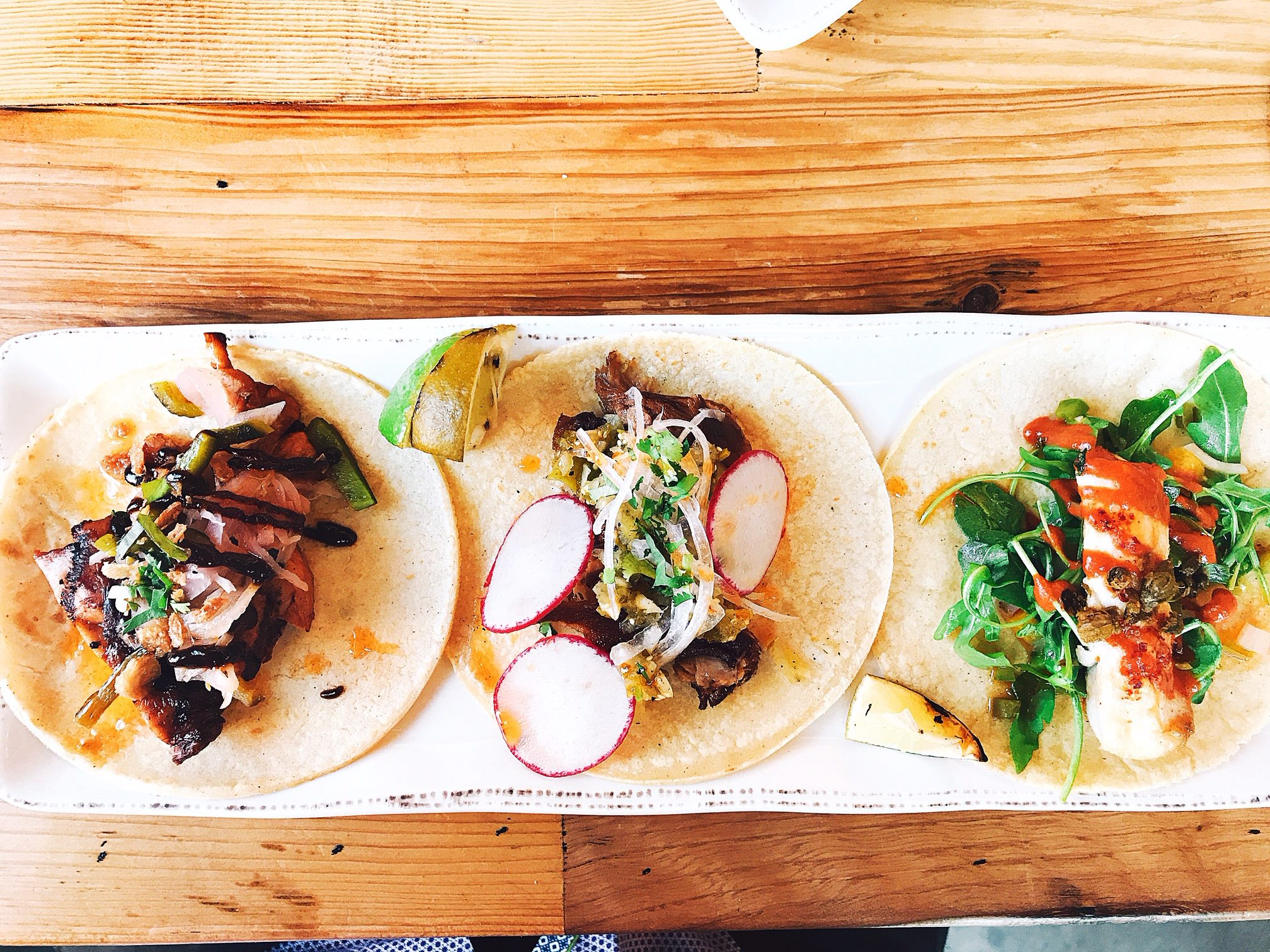 Delicious tacos at Hook & Lime/Omaha