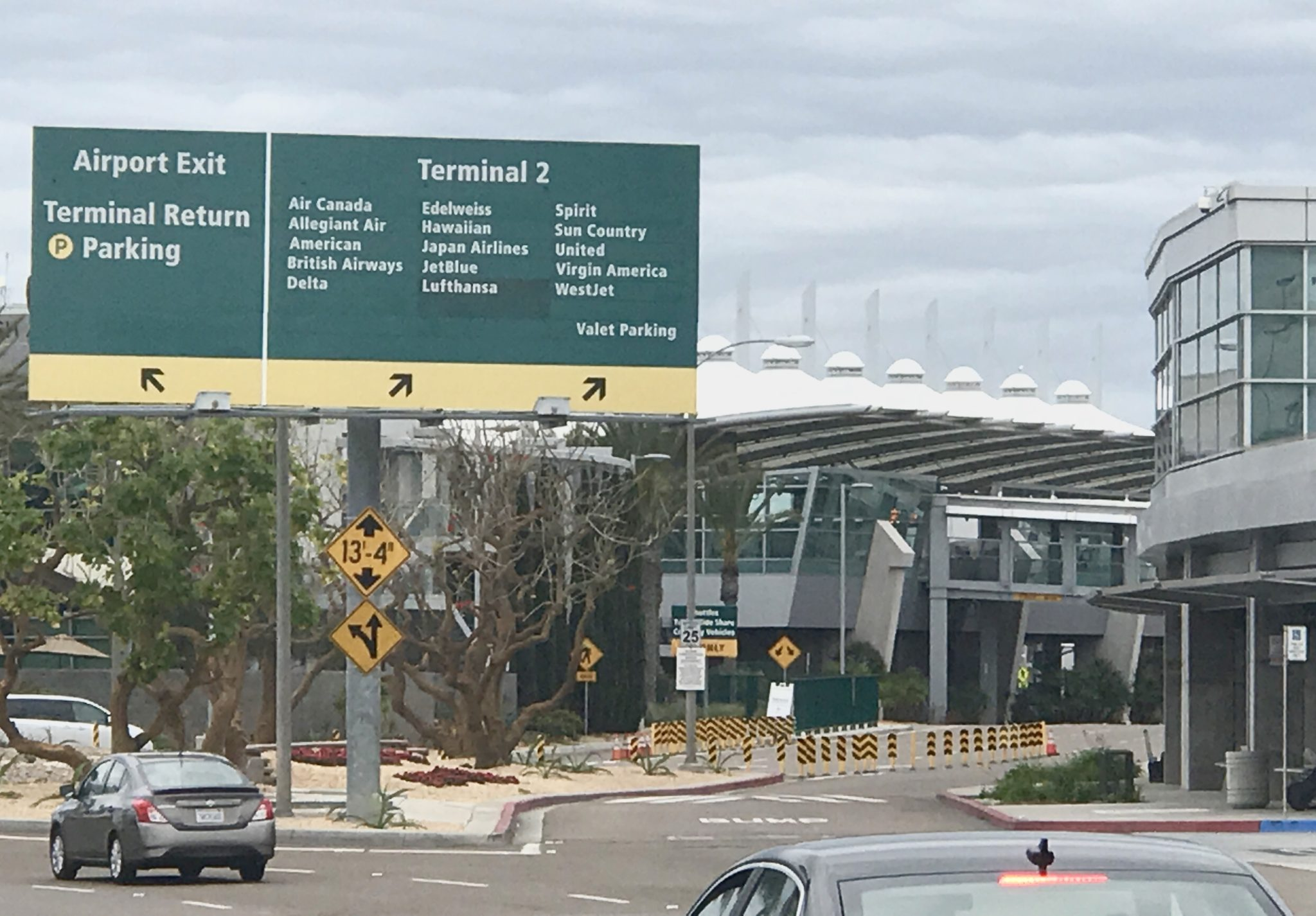 Terminal 1 & 2 at San Diego Airport