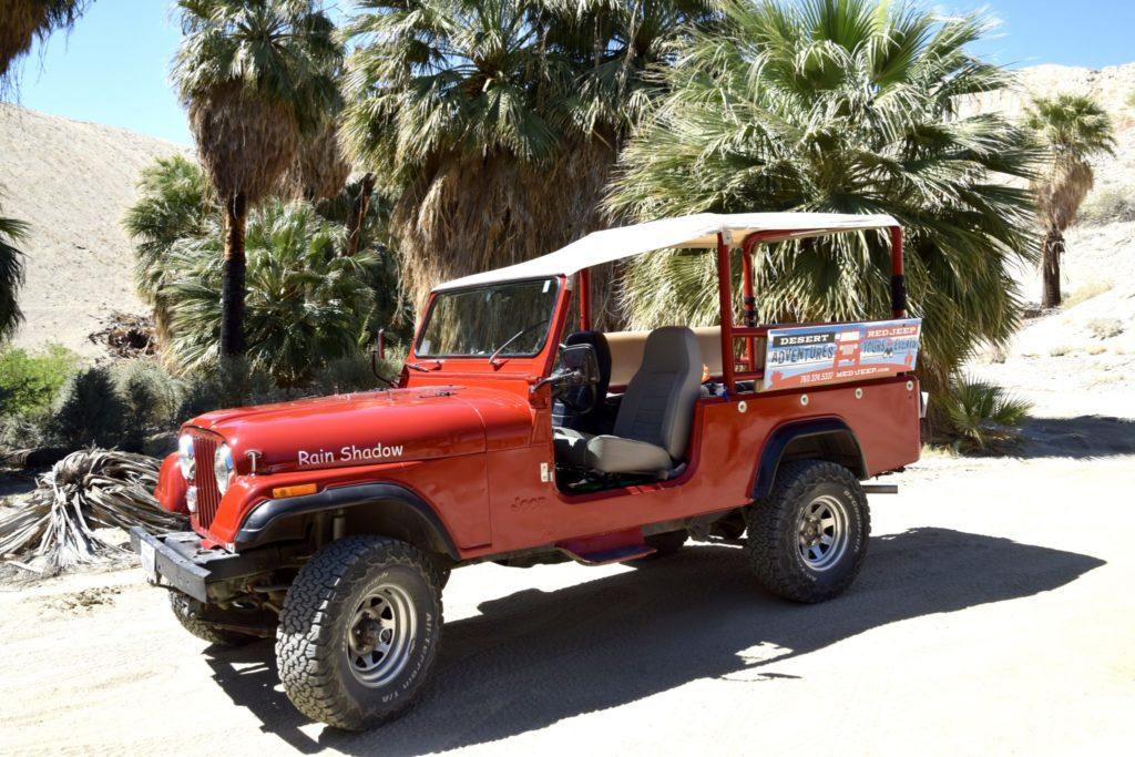 Desert Adventures Red Jeep Tour
