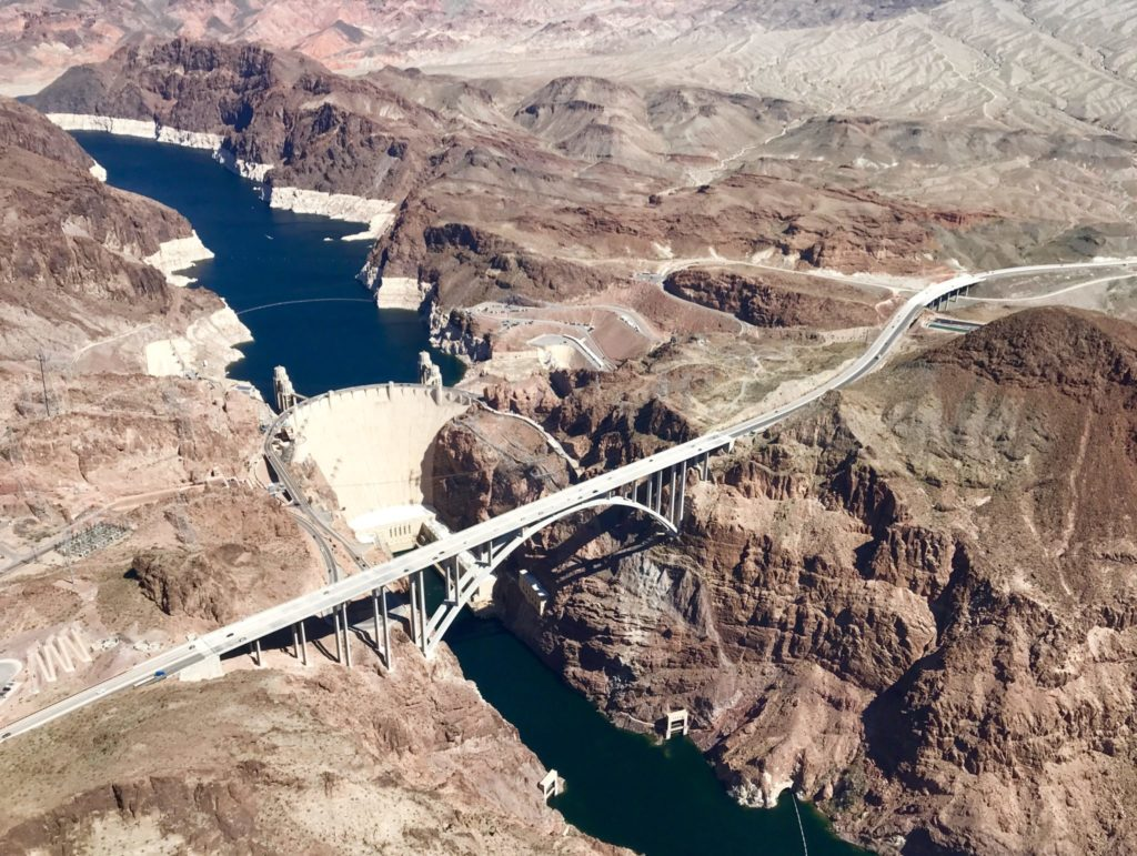 Maverick Helicopter tour of Hoover Dam