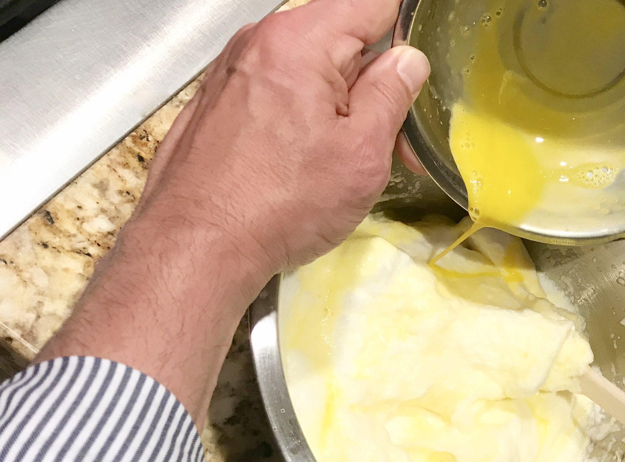 Chili rellenos egg batter