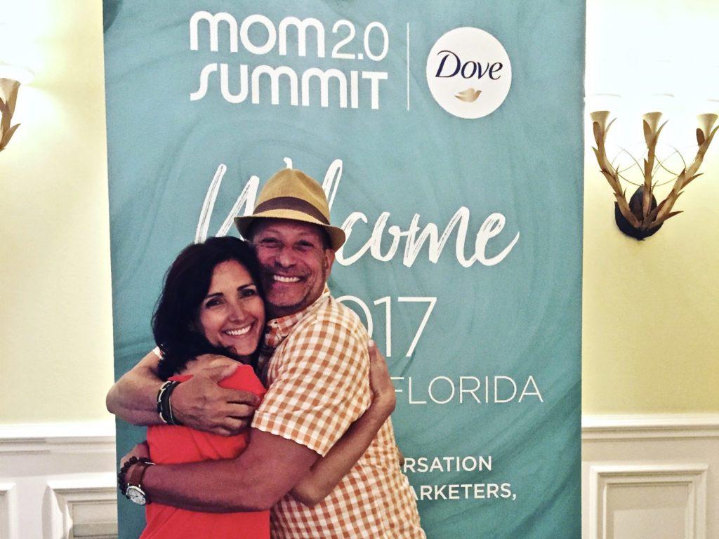 Vera Holroyd and Jon Bailey at Mom2.0