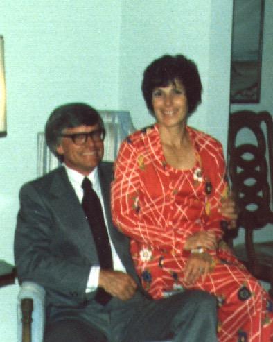 Dean and Anne Bailey 1974