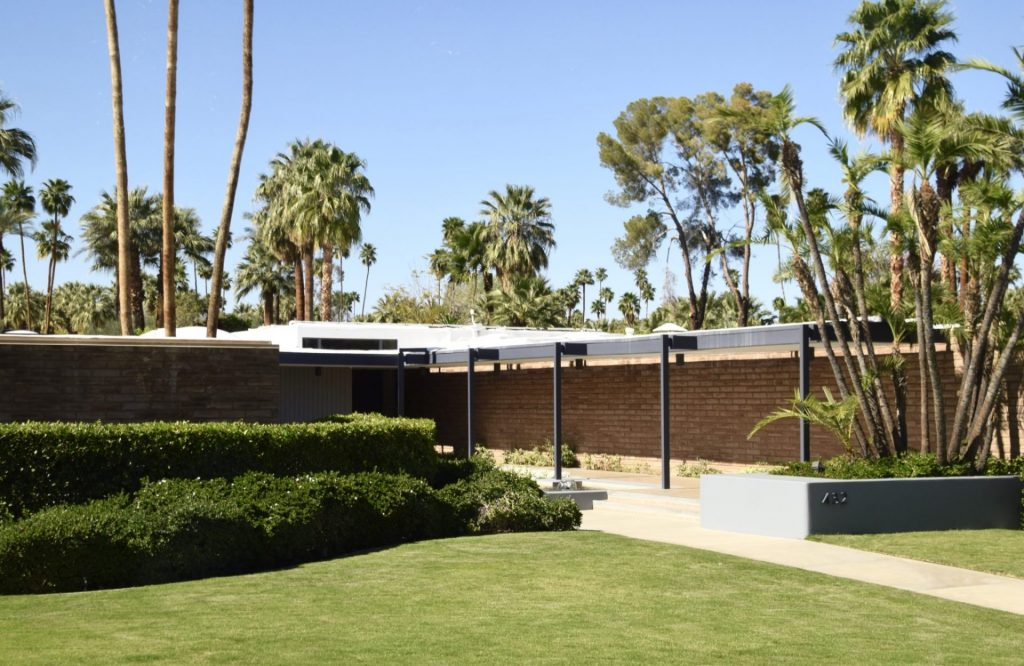 Palm Springs home of Leonardo DiCaprio