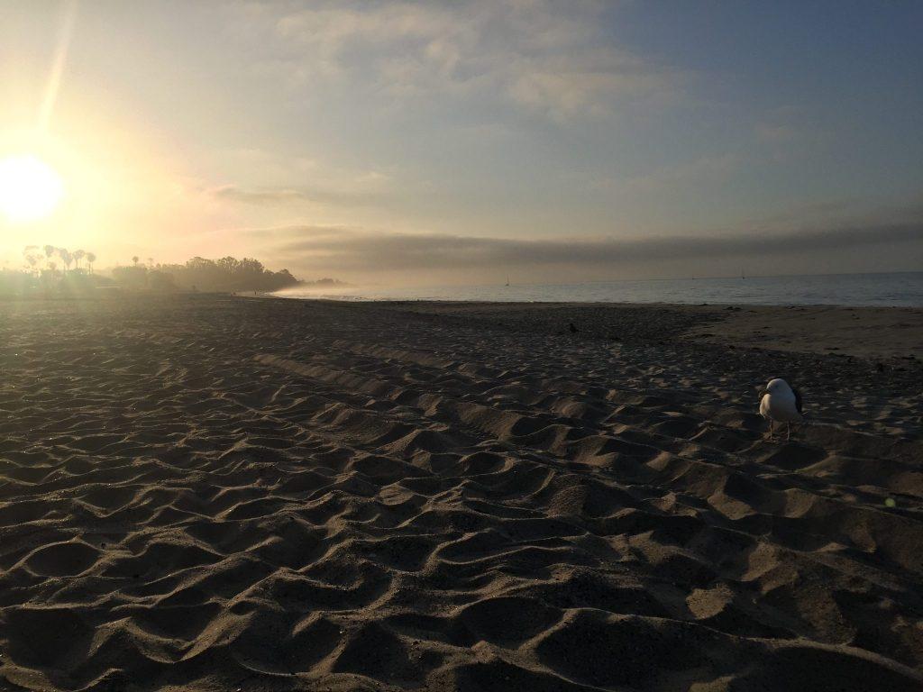 sunrise East Beach Santa Barbara