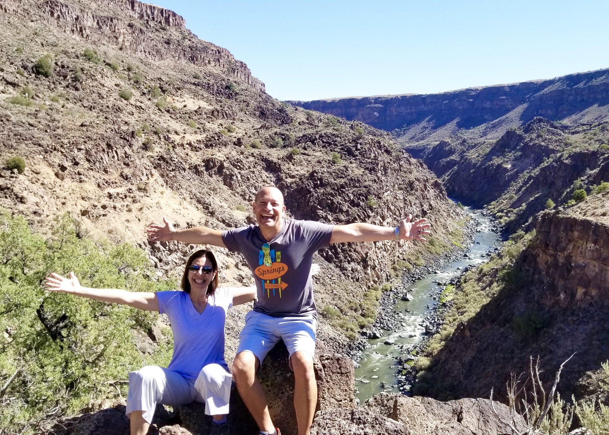 Rio Grande River Gorge view