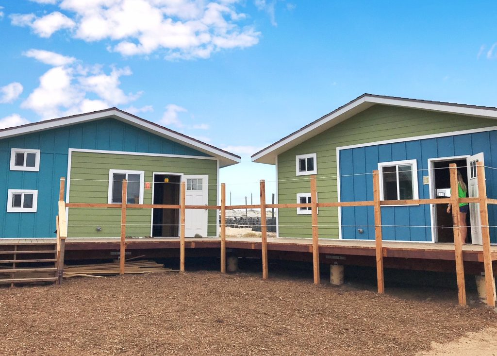 Camp Surf new cabins