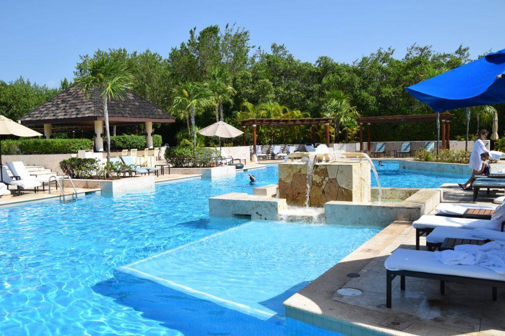 Fairmont Hotel Mayakoba main pool