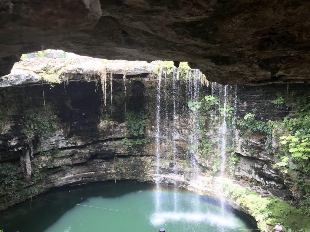 Sa'amal Cenote near Chichen Itza