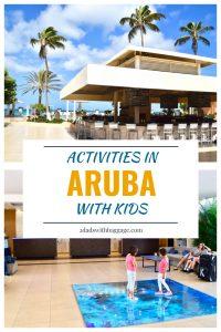 Activities in Aruba with kids