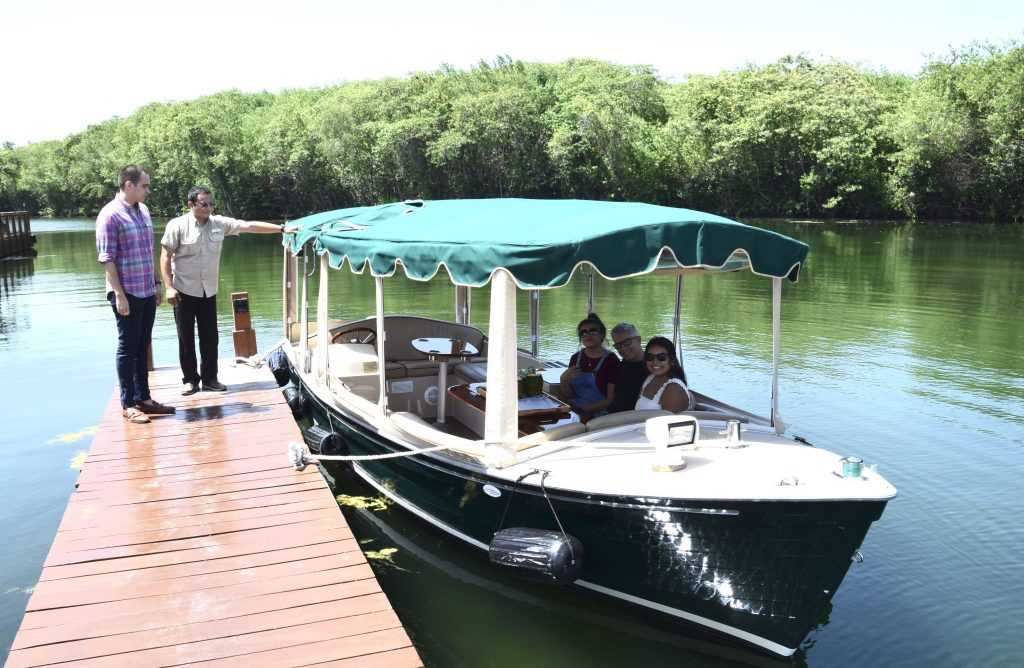 Fairmont Hotel Mayakoba boat tour