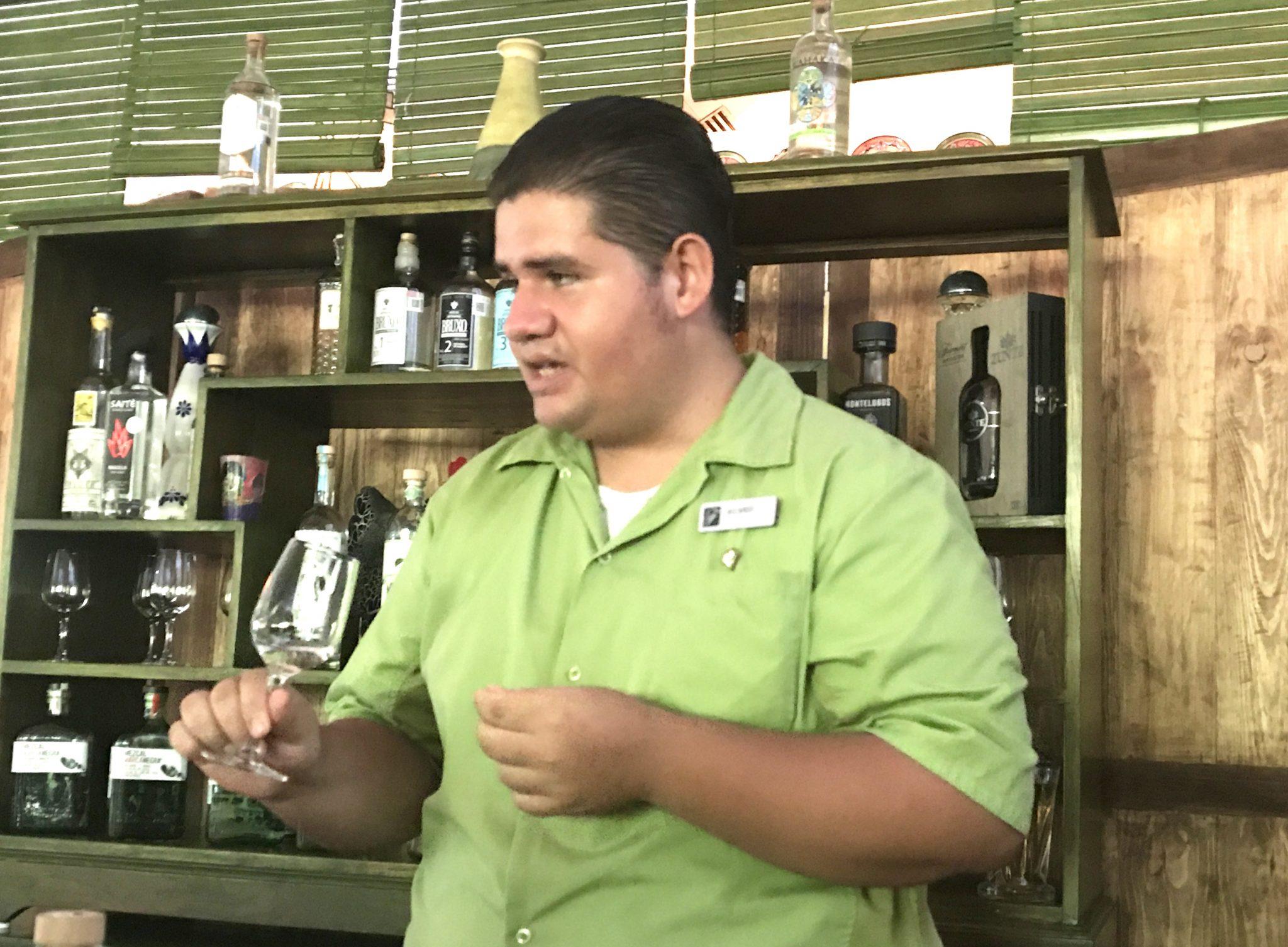 lesson in mezcal tasting