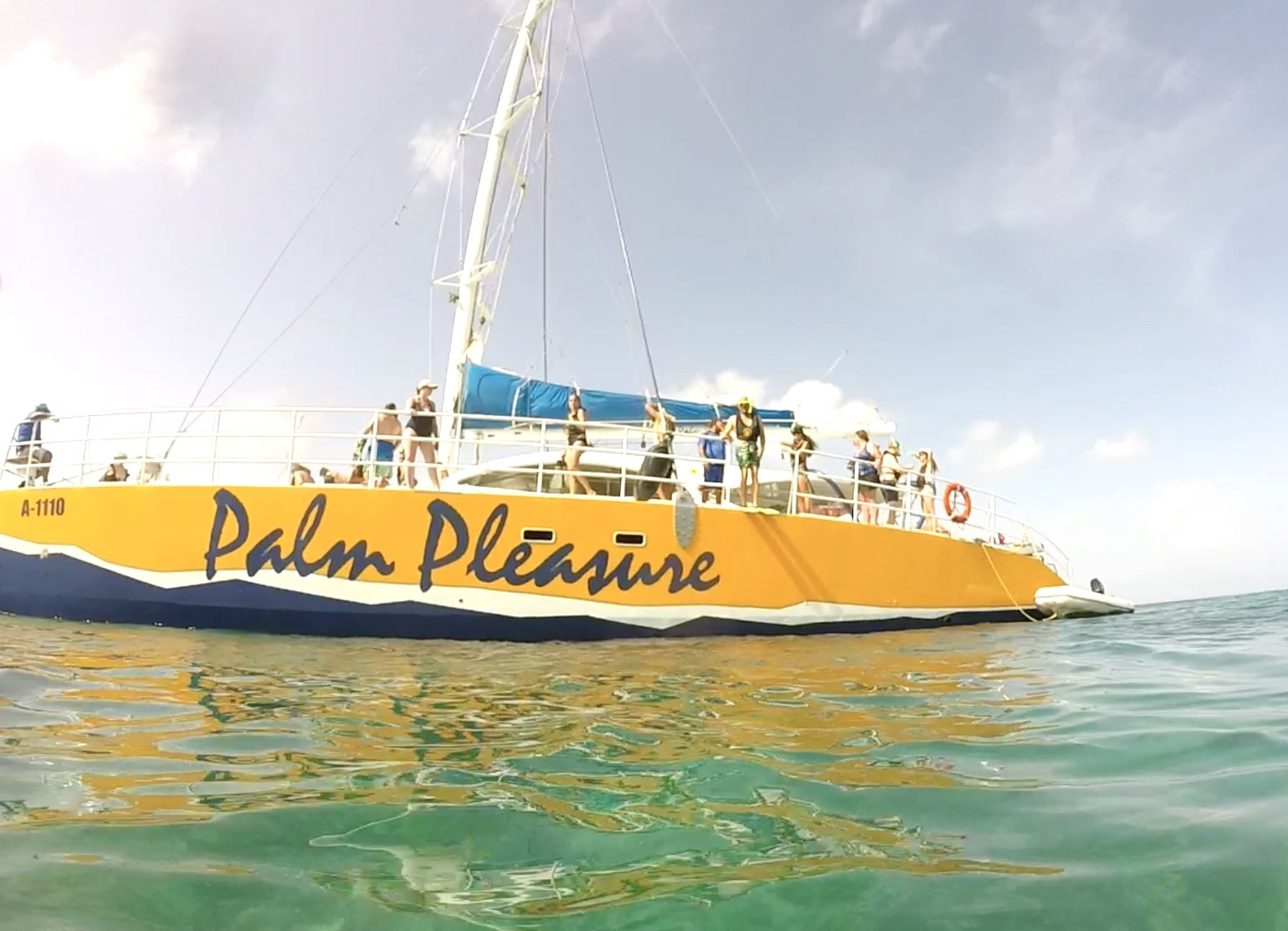 snorkeling with DePalm Tours in Aruba