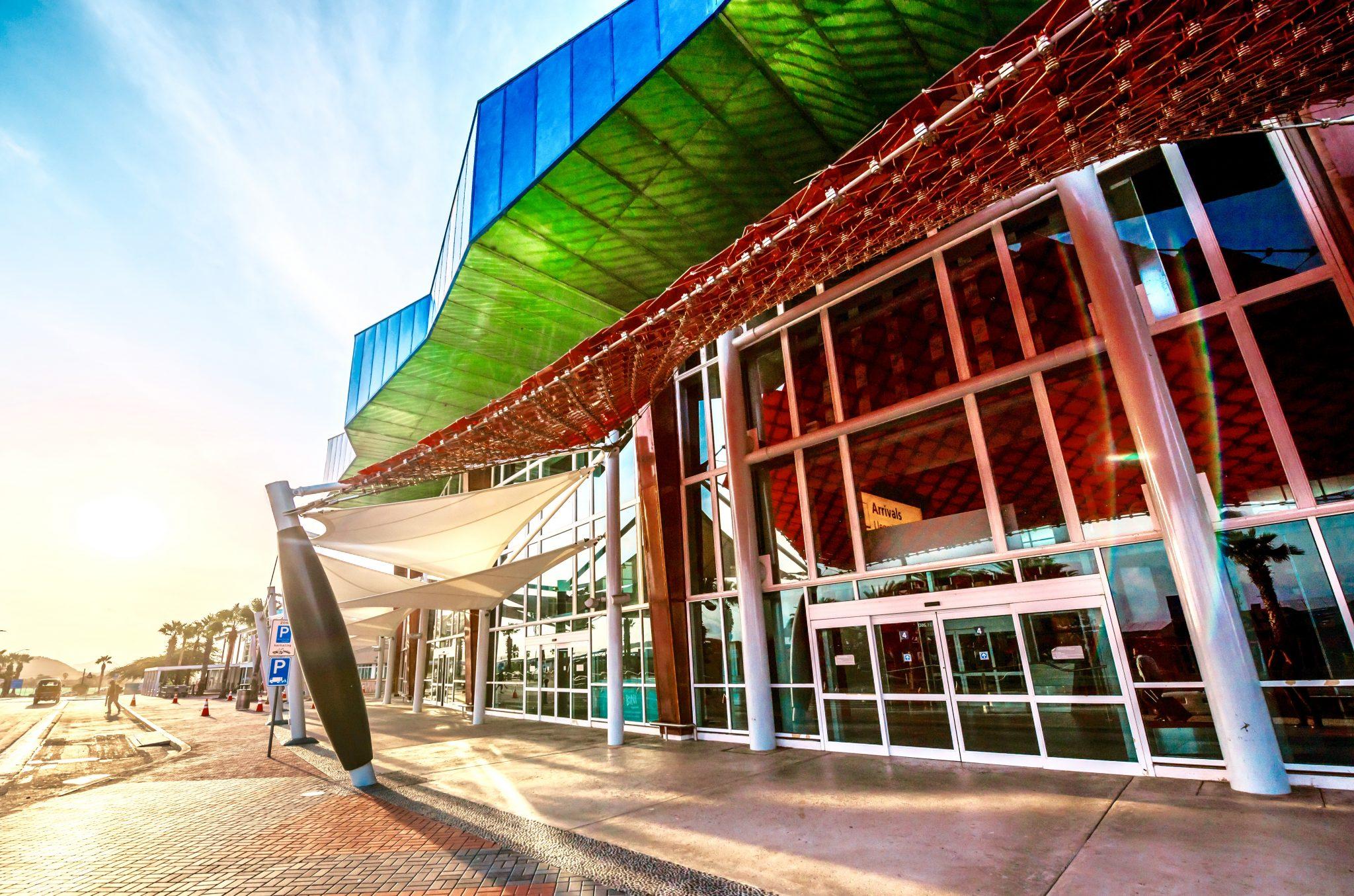Aruba Airport architecture