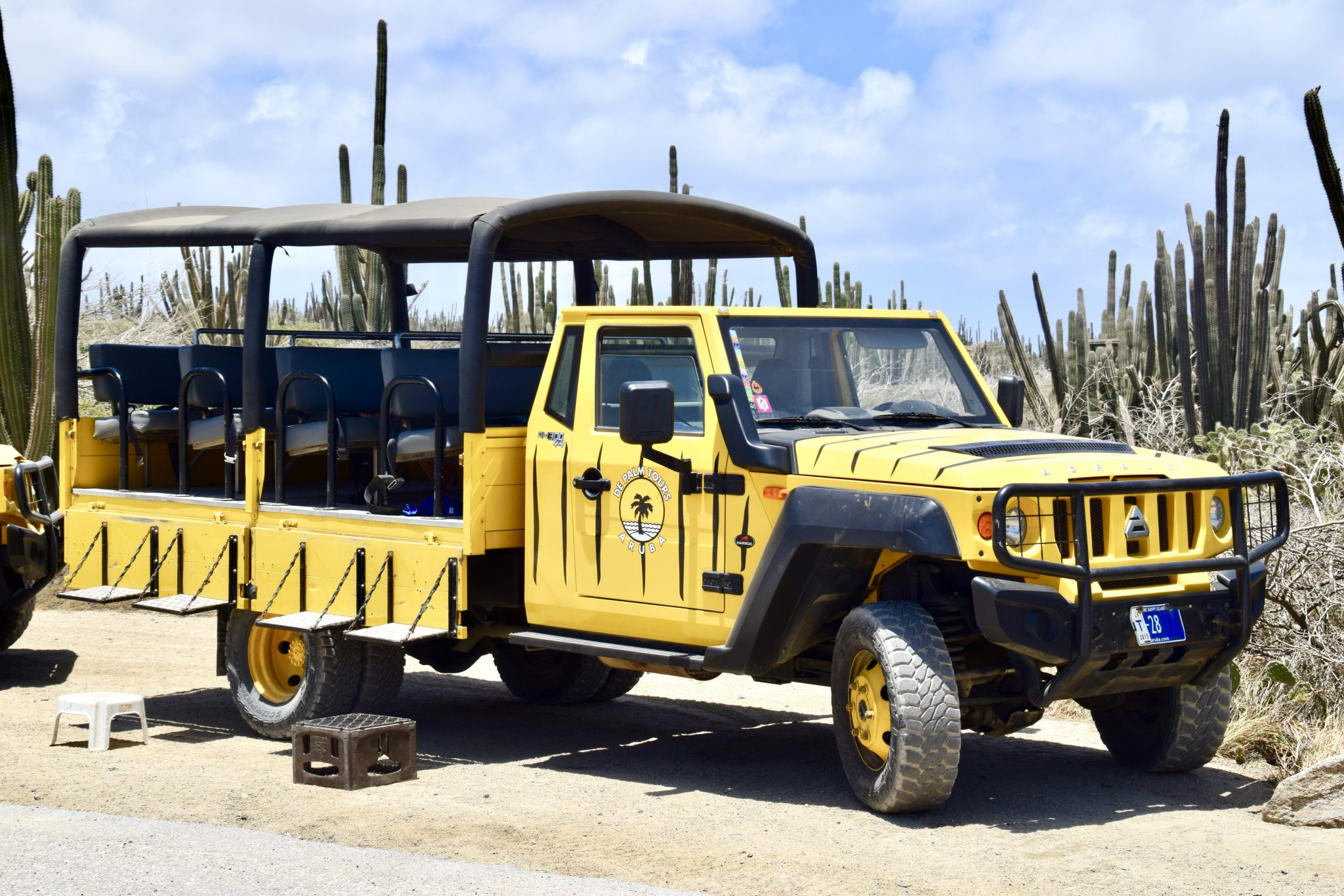 DePalm Tours Aruba off-road jeep