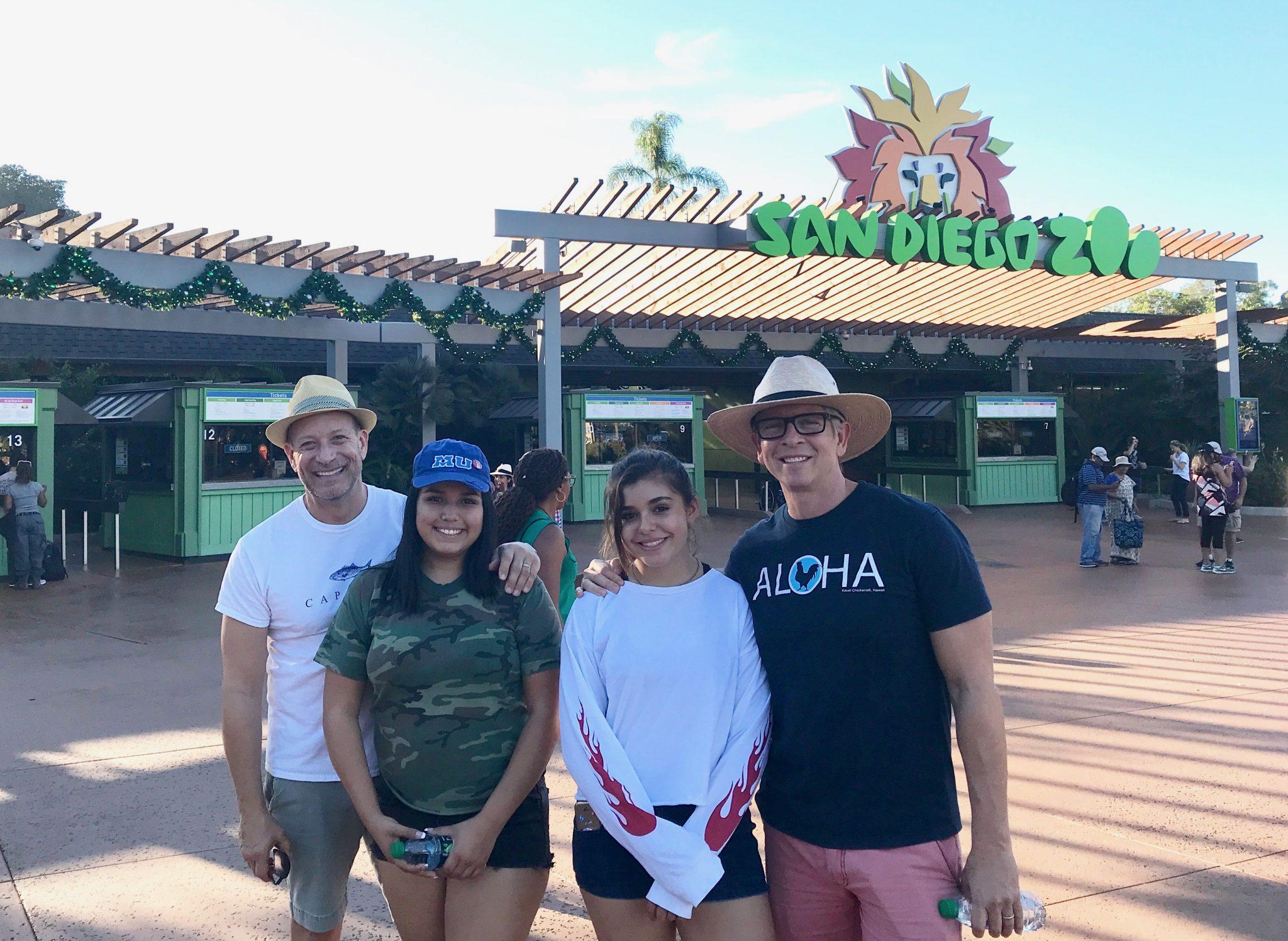 gay dad family at San Diego Zoo