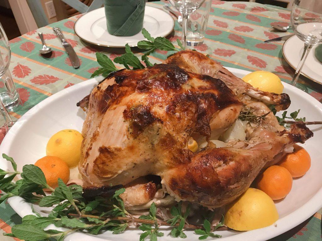 Thanksgiving turkey dinner with Omaha Steaks