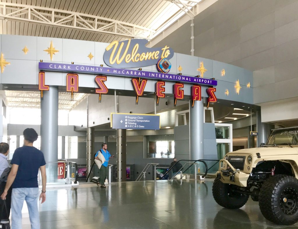 Welcome to Las Vegas Airport