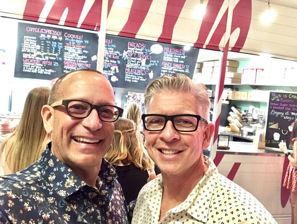 dessert at Milk Bar Cosmopolitan Las Vegas