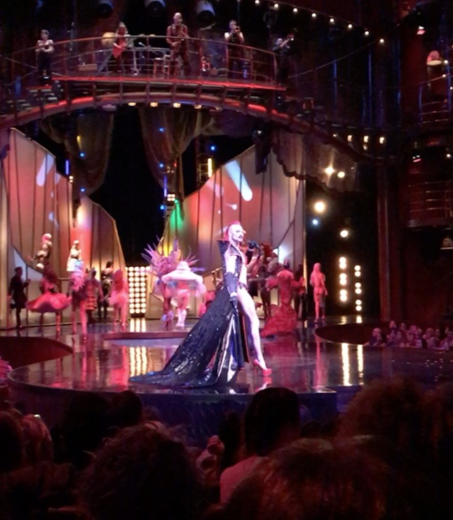Cirque de Soleil Zumanity Mistress of Ceremonies