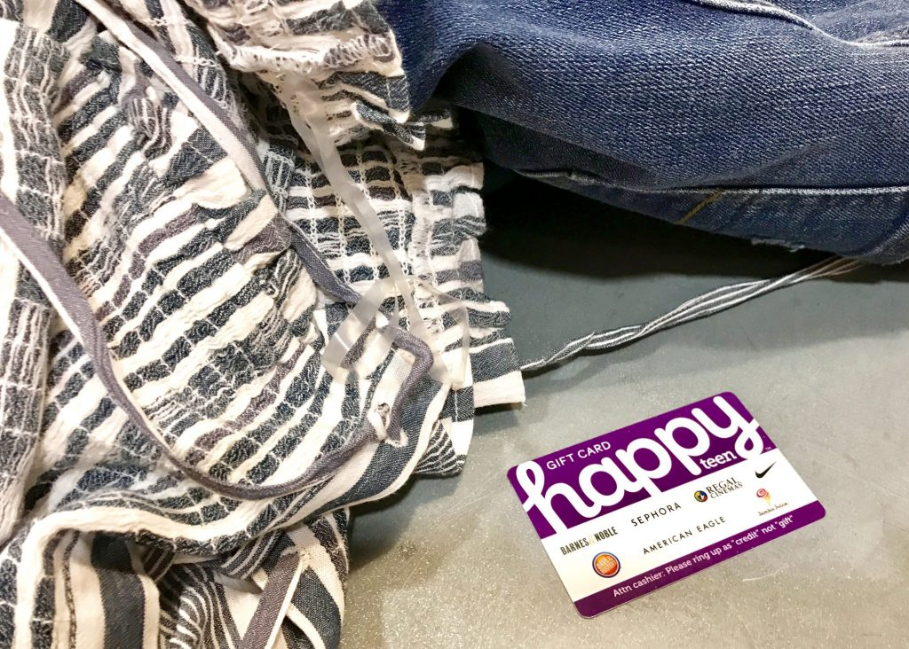 American Eagle and Happy Teen gift card