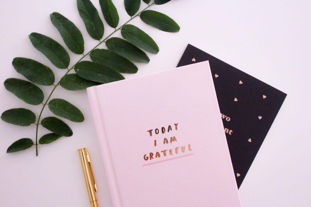 Gratitude Journal and pen