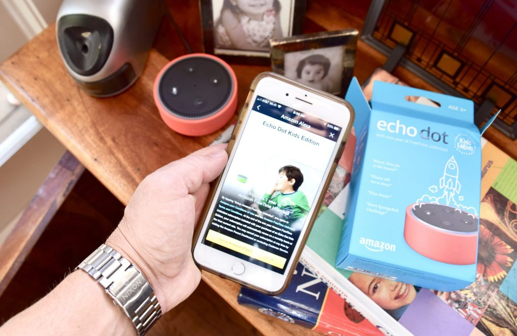 Amazon Echo Kids Edition guided set up