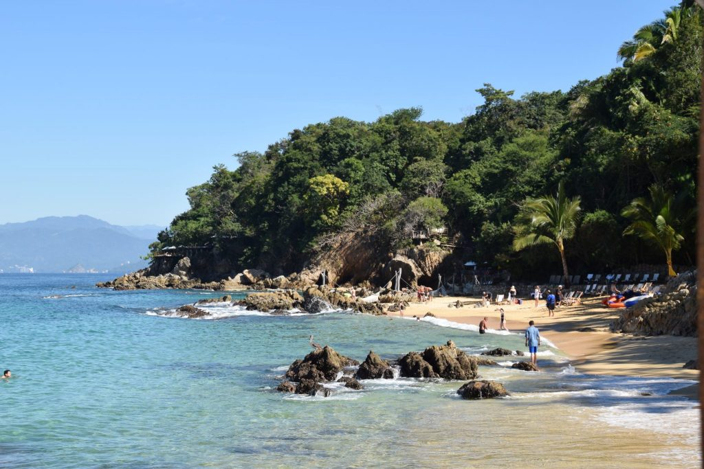 Las Caletas private beach Puerto Vallarta
