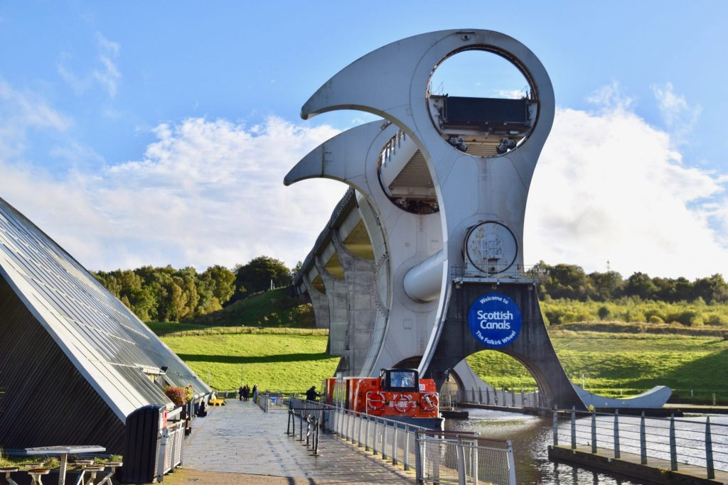 Falkirk Wheel on the Scottish Canals