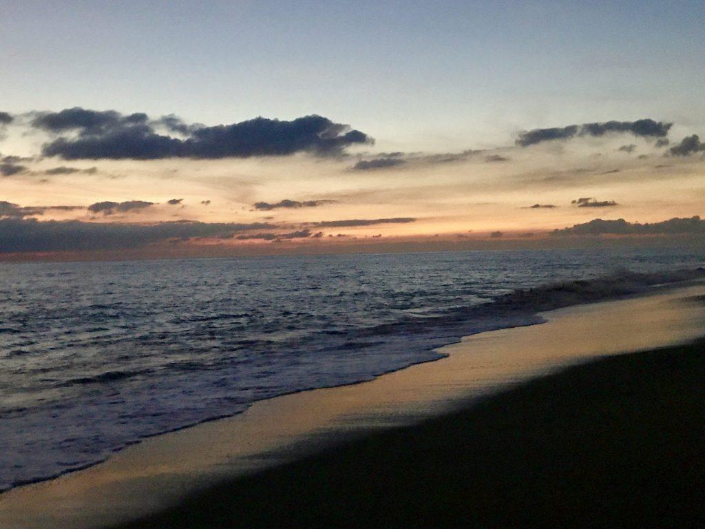 Beach sunset at Marriott Puerto Vallarta