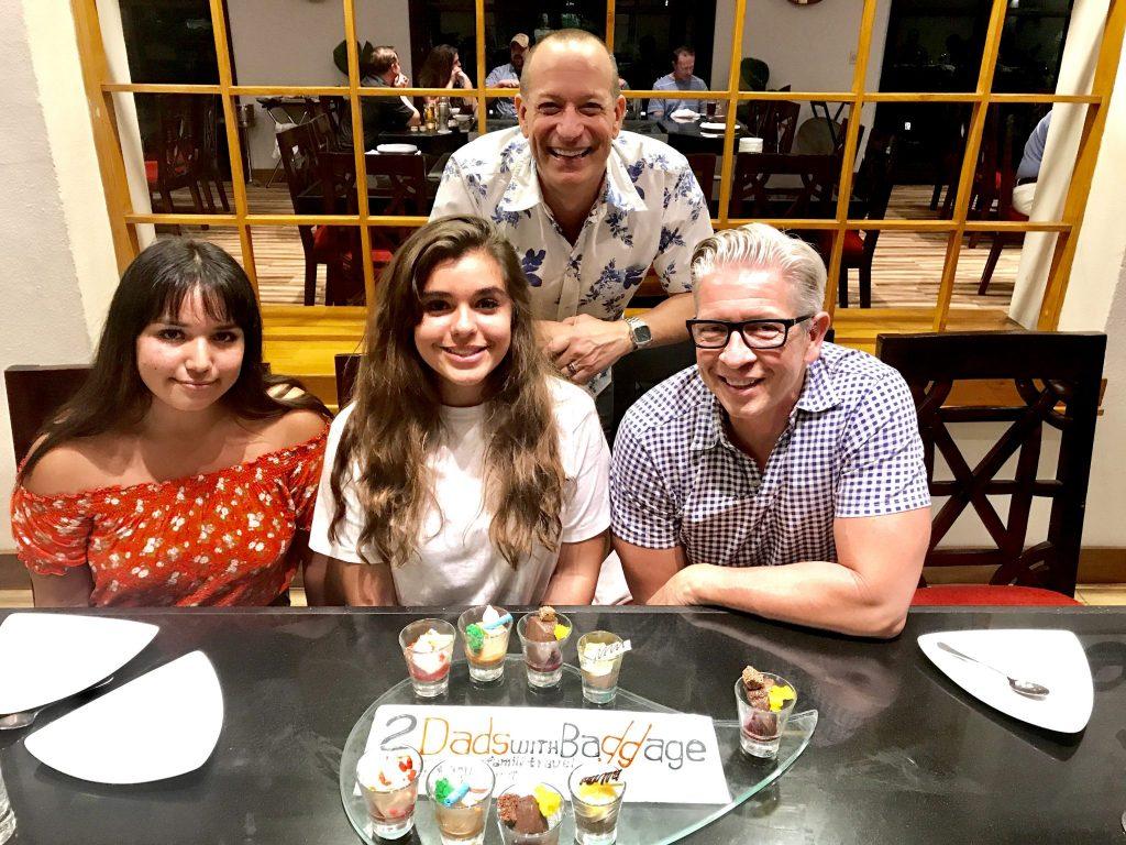 Bailey-Klugh family at Mikado Restaurant Marriott Puerto Vallarta