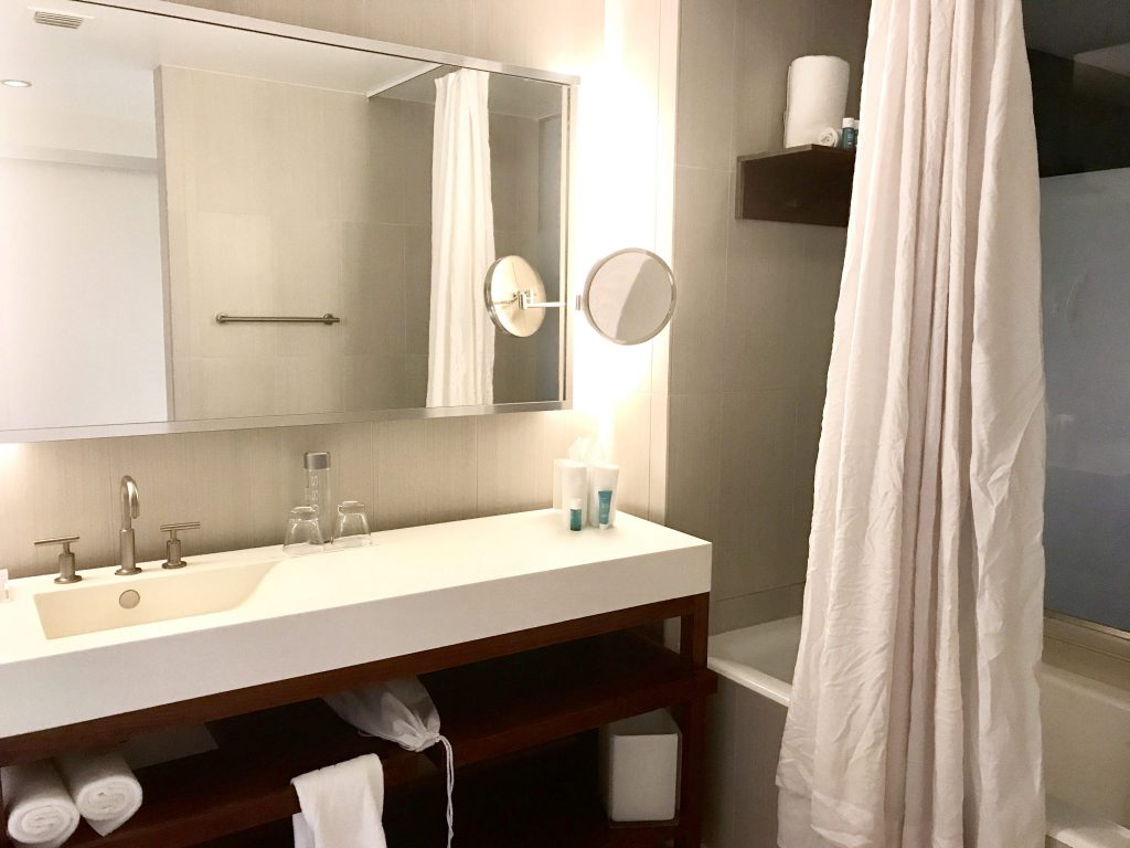 bathroom at W Hotel Fort Lauderdale