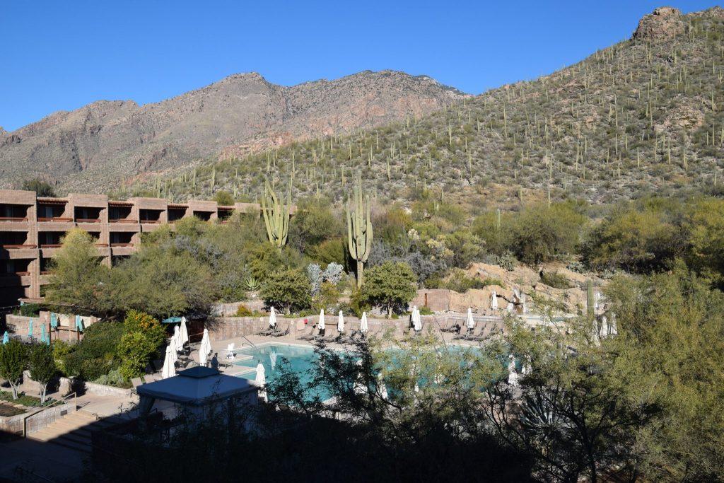 pool view Loews Ventana Canyon Resort