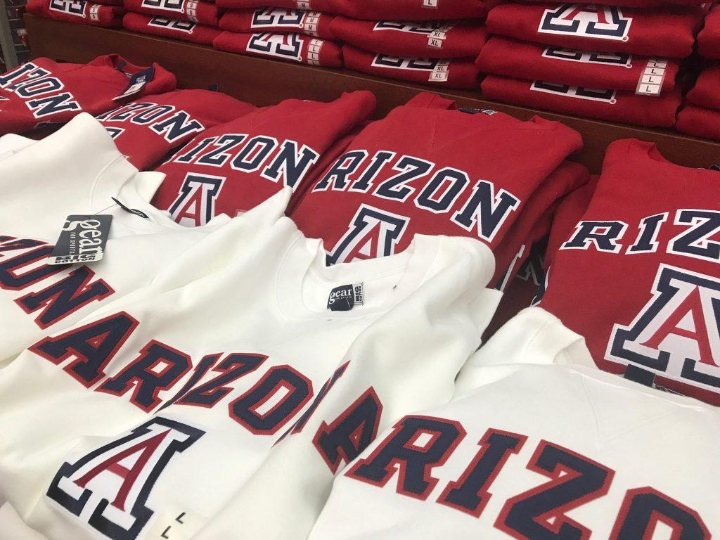 University of Arizona sweatshirts