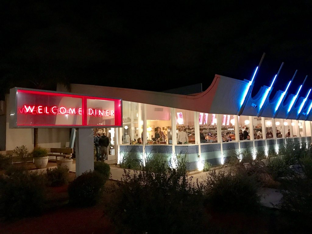 exterior of Welcome Diner in Tucson