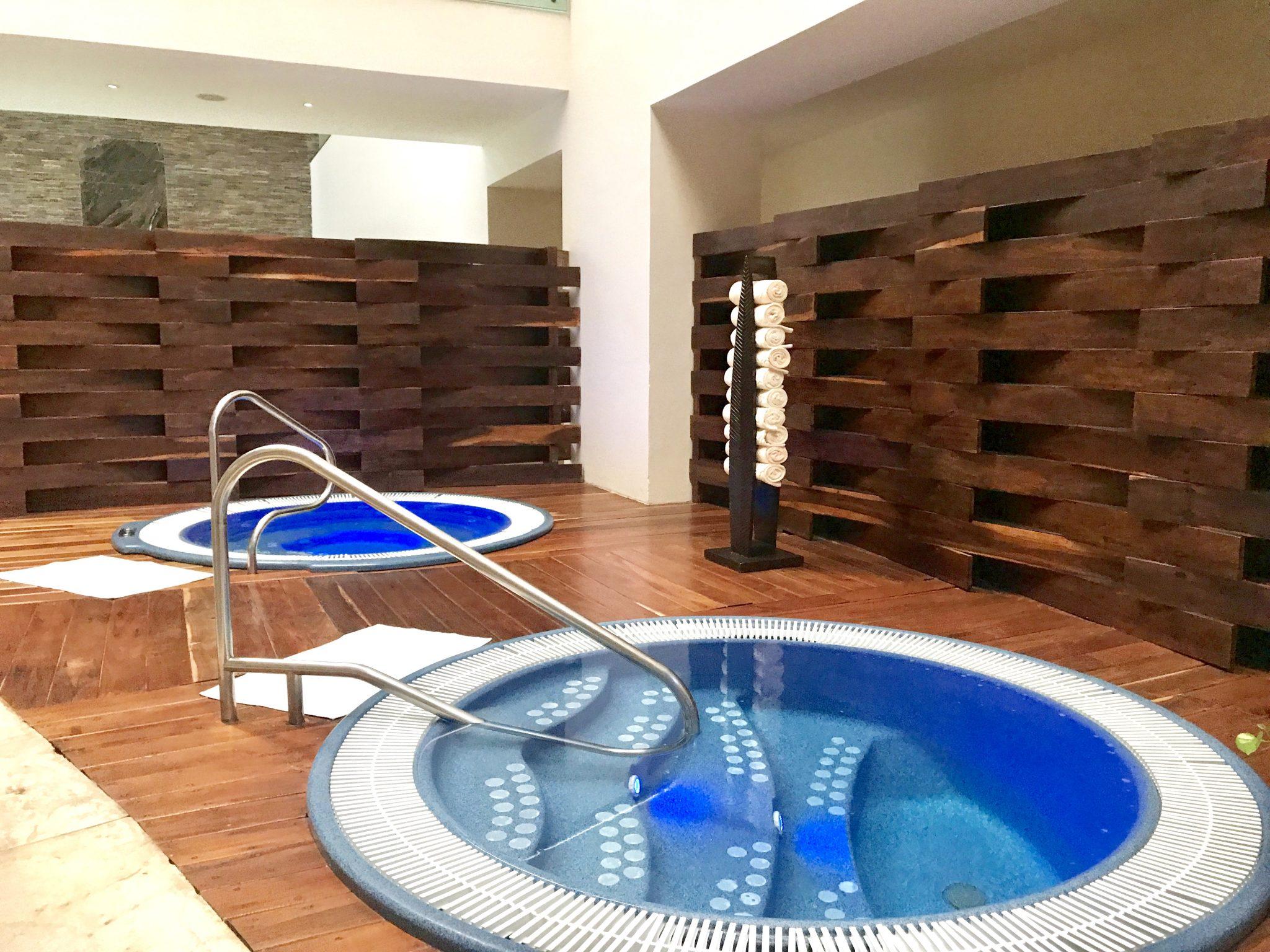 hot tubs at Se Spa Riviera Maya