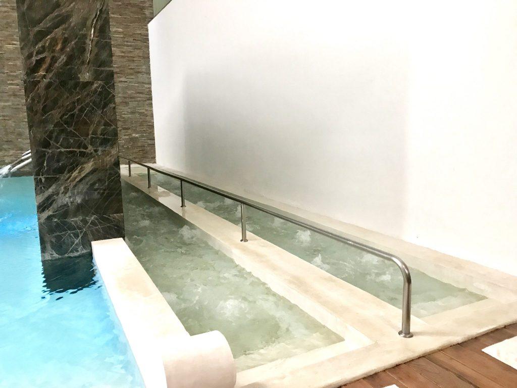 foot hydrotherapy at Se Spa Riviera Maya