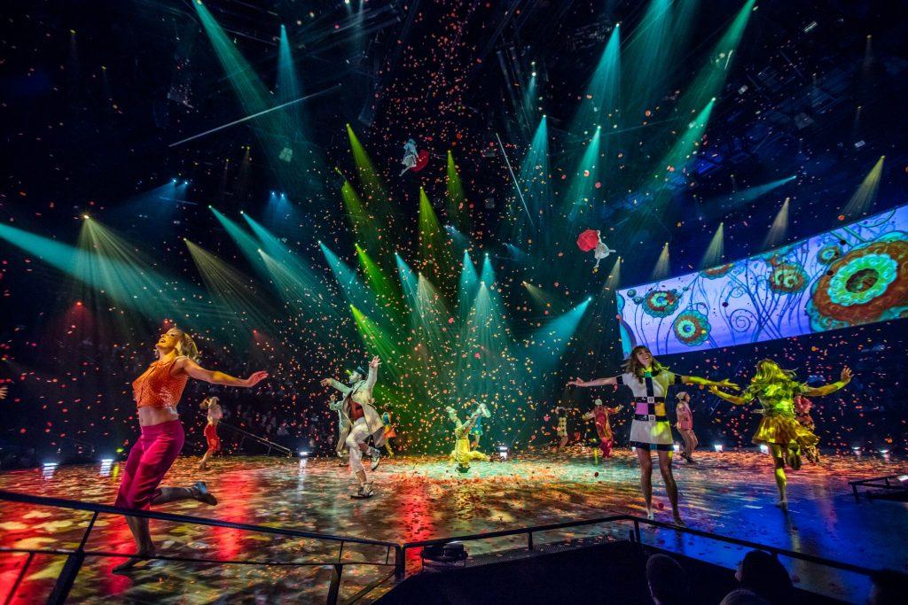 The Beatles LOVE Cirque de Soleil Las Vegas