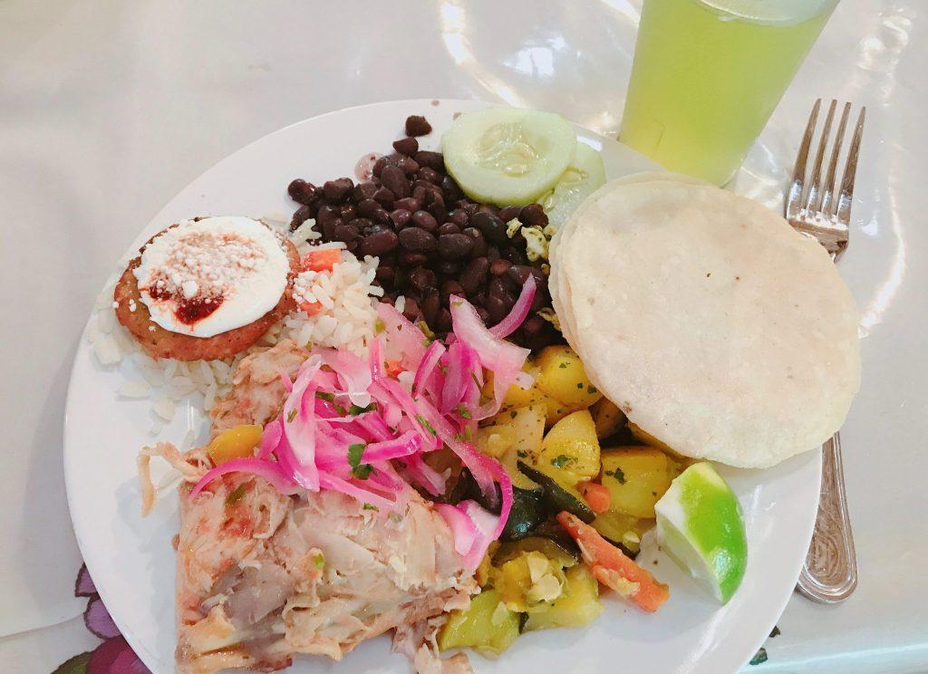 Mayan lunch at Coba