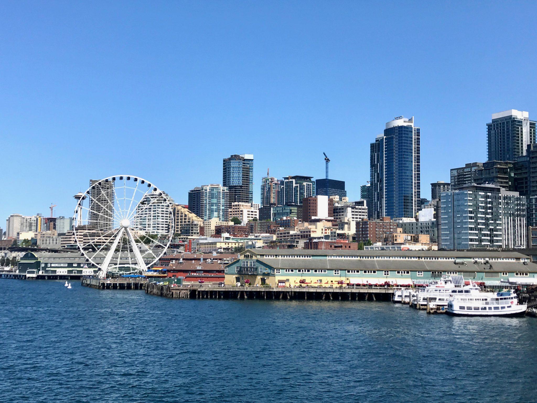downtown Seattle waterfront