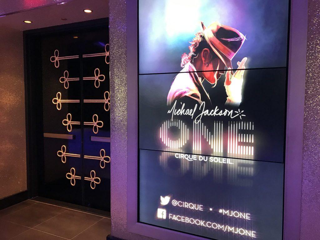 Michael Jackson ONE show Las Vegas entrance