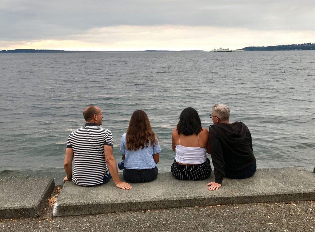 Alki Beach Seattle Pugent Sound