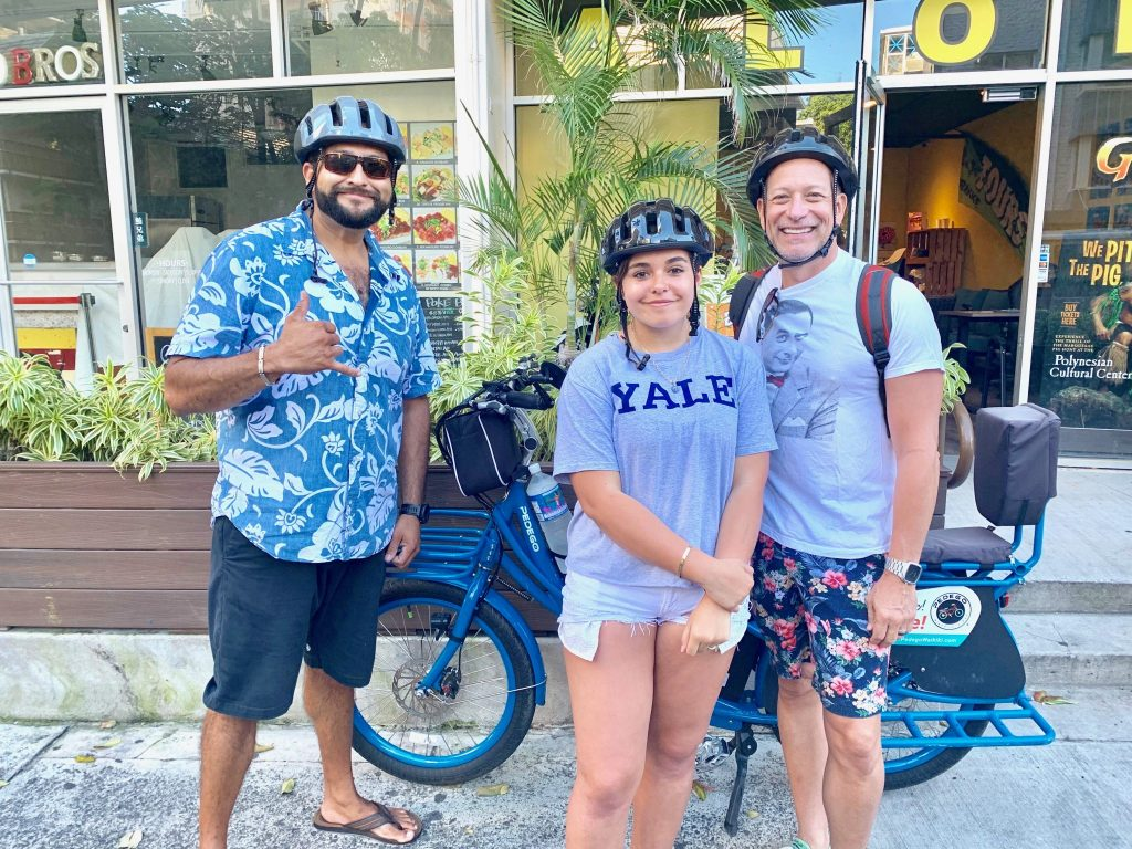 Pedego Waikiki electric bike tour Honolulu