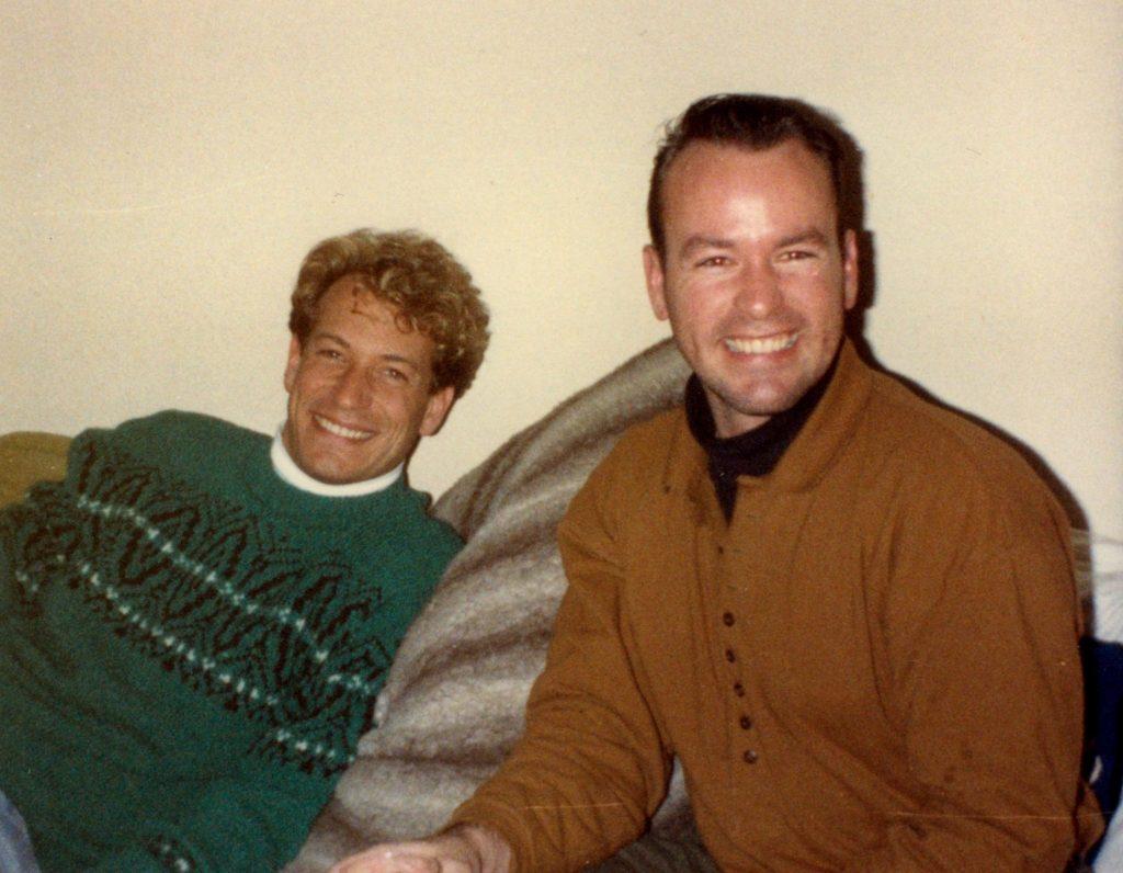 Jon Bailey and Joel