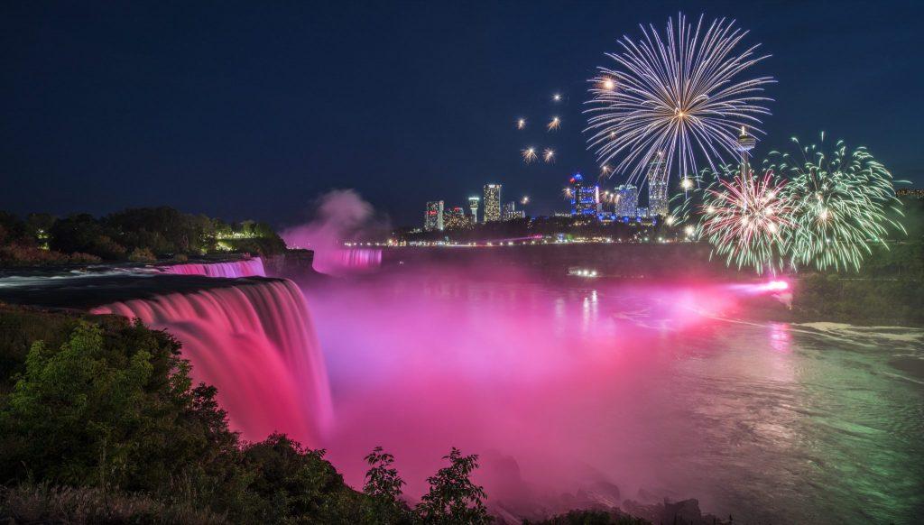 fireworks Niagara Falls New York
