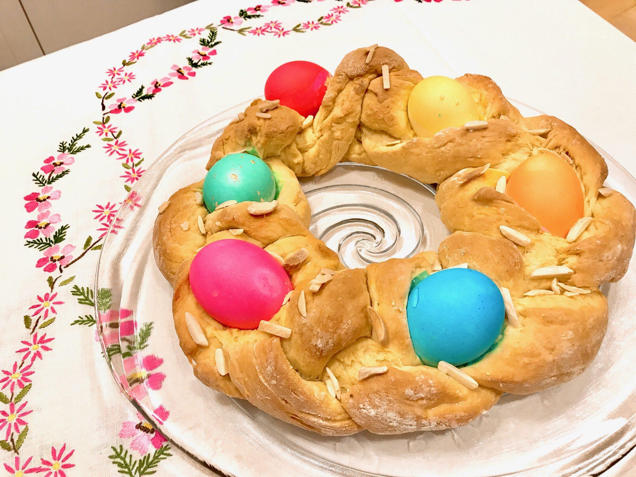 Nana's Recipe for Traditional Italian Easter Bread